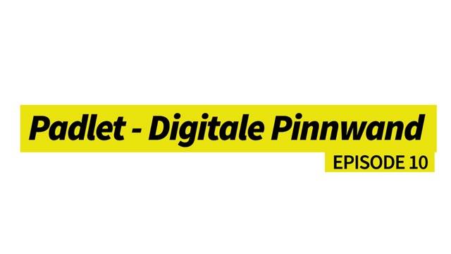Padlet - eine digitale Pinnwand