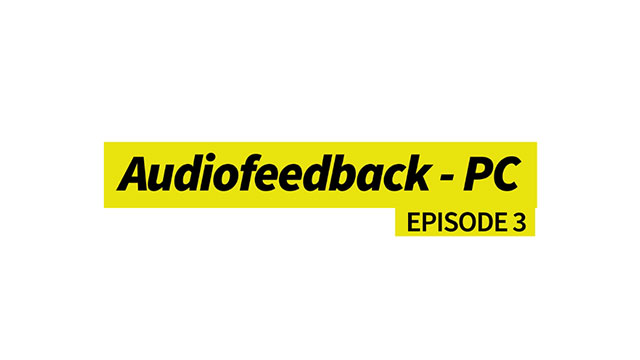 Audiofeedback - PC
