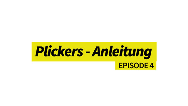 Plickers - Kurzanleitung