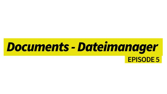 Documents - Dateimanager